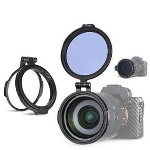 ND filter Quick Switch houder Flip houder  bajonet grootte: 72mm