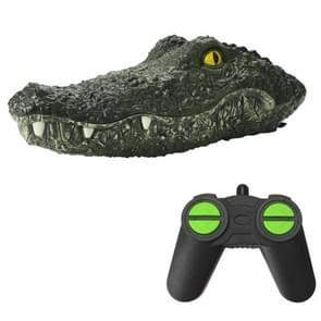Simulatie Crocodile Remote Control Boat Floating On Water Spoofing Cup Toy Summer Outdoor Zwembad Speelgoed