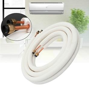 3 STKS airconditioner aansluiting zuivere koperen pijp verdikt met natrium airco pipe, Typle: 1.5 P afgewerkt buis 6x12mm