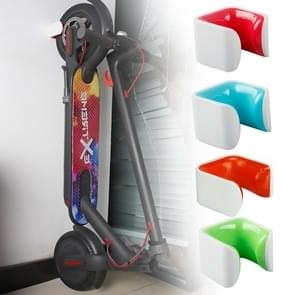 Electric Scooter Creative Parking Wall-mounted Bracket for Xiaomi ES1 / ES2 / ES4(Blue)