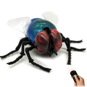 Infrarood sensor afstandsbediening gesimuleerde insect lastige creatieve kinderen elektrisch speelgoed model (Housefly)