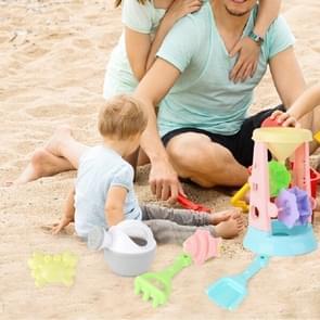 6 in 1 Summer Children Beach Play Sand Toys Sandglass Toy Set