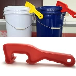 10 stuks waterdichte ABS emmer opener verdikken verf emmer open cover moersleutel tool  willekeurige kleur levering