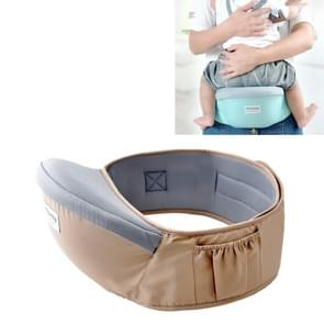 Taille gordel Baby Carrier taille kruk Walkers baby Sling Hold taille riem rugzak (kaki)