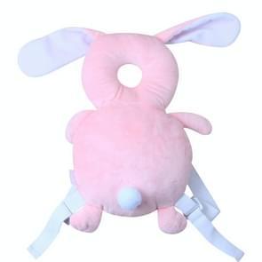 Baby peuter bescherming hoofd Shatter resistente gewatteerde hoofdsteun  stijl: konijn