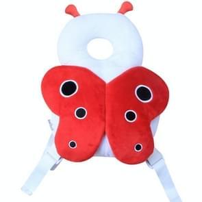 Baby peuter bescherming hoofd Shatter resistente gewatteerde hoofdsteun  stijl: butterfly