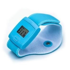 Slimme lichaamstemperatuur Armband Bluetooth thermometer kind baby thermometer (blauw)