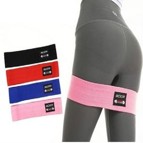 2PCS BOER Polyester + Latex Silk Anti-skid Elastic Fitness Resistance Ring Yoga Stretch Belt