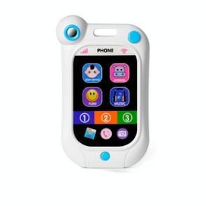 Baby stop huilen mobiele telefoon baby simulatie slimme telefoon kinderen educatieve vroege kindertijd speelgoed (blauw)