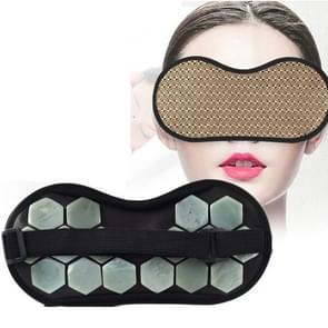 2 PCS Travel Office Magnetic Therapy Health Care Shade Eye Mask(Jade)