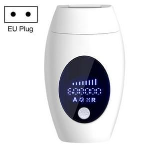 600000 Flash Professional Permanent LPL Epilator Painless LCD Hair Removal Machine, Specification:EU Plug(White)