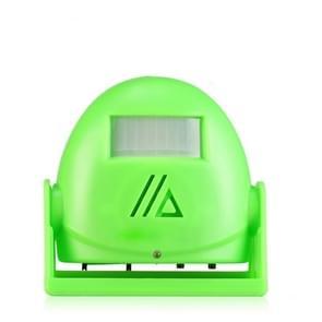 Elektronische infrarood welkomstapparaat Welkom Deurbel (Groen)