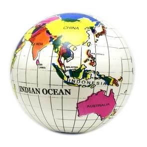 Kinderen opblaasbare Engelse versie Earth vorm wereld kaart Globe bal zomer water speelgoed strandbal