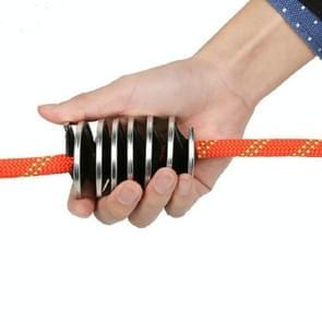 XINDA XD-Q9705 Outdoor Climbing Rope Brush Cleaning Brush Rope Cleaning Tool(Black)