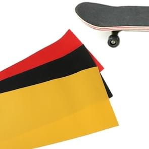 Yellow PVC Professional Waterproof Non-slip Matte Sticker for Skateboarding