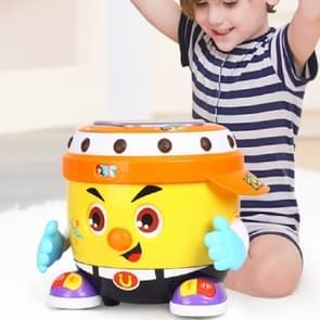 Baby speelgoed partij Drum speelgoed kinderen muziek verlichting leren educatief speelgoed (geel)