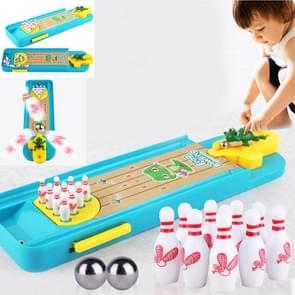 Children Mini Desktop Bowling Toy Set Multicolor Indoor Education Board Game