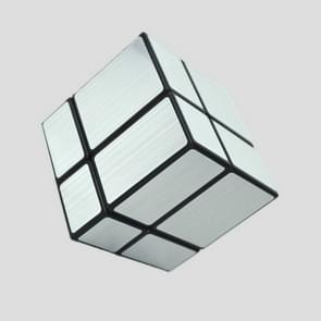 Mirror Second-order Entry-level Shaped Cube Speed Challenge Gift Intelligent Early Education Toy (Sliver)