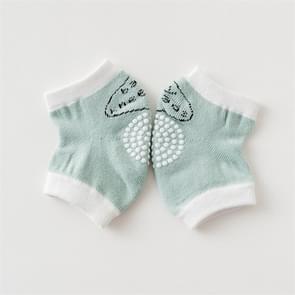 Babys Non-slip Kneecap Cotton Knee Pad Baby Crawling Knee Pads(Green)