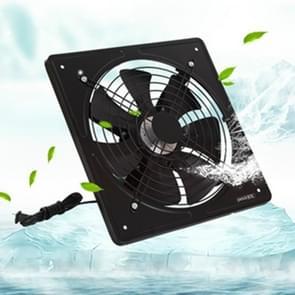 220V uitlaat ventilator hoge snelheid lucht afzuigkap venster ventilatie ventilator voor keuken ventilator axiale industriële muur fan 10 inch