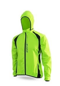 Quick Dry Cycling Jacket Waterproof Windproof Men Running Outdoor Rain Coat, Size:XS(Green)