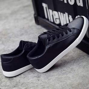 Flats Sneakers Casual shoes Lace Up Shoes, Shoes Size:36(Black)
