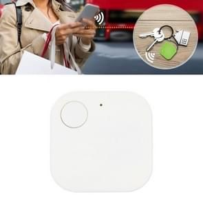 Portable Mini Square Anti Lost Device Smart Bluetooth Remote Anti Theft Keychain Alarm (Wit)