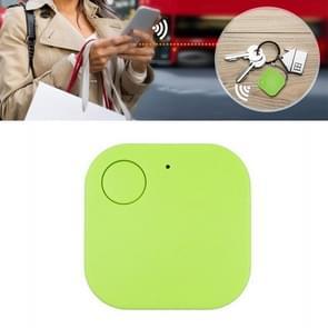 Portable Mini Square Anti Lost Device Smart Bluetooth Remote Anti Theft Keychain Alarm(Groen)