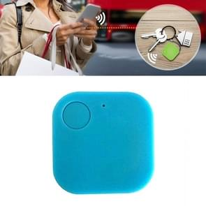 Portable Mini Square Anti Lost Device Smart Bluetooth Remote Anti Theft Keychain Alarm(Blauw)