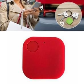 Portable Mini Square Anti Lost Device Smart Bluetooth Remote Anti Theft Keychain Alarm(Rood)