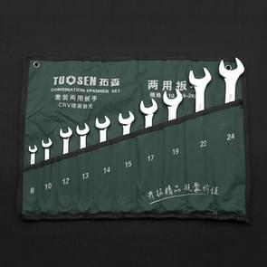 10 In 1 TUOSEN Manual Hardware Tool Opening Plum Blossom Dual-use Wrench Set