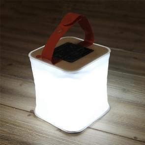 Outdoor LED camping licht Solar opblaasbare licht waterdicht vouwen draagbare noodverlichting (wit)