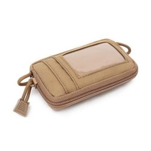 Buiten Running multi-functionele Coin Purse reizen waterdichte Leisure Card Bag (Tan)