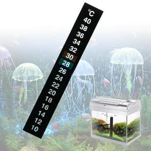 2 PCS PET Material Digital LCD Color Fish Tank Sticker Thermometer