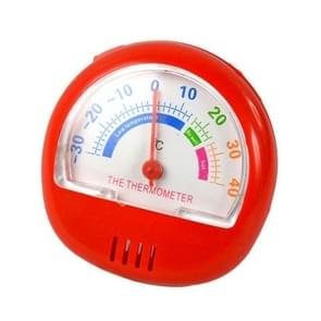 2 PCS Freezer Thermometer Indoor Outdoor Pointer Thermometer (Rood)