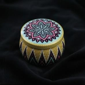 Mini Gift Sieraden Tin Box Cookie Candy Thee Opslag Ronde Drum Tinplate Box Lade Organizer (Stijl D)