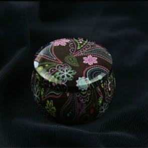 Mini Gift Sieraden Tin Box Cookie Candy Thee Opslag Ronde Drum Tinplate Box Lade Organizer (Stijl E)