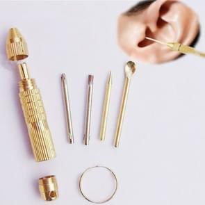 5 sets 4 in 1 multifunctionele draagbare oor lepel tools