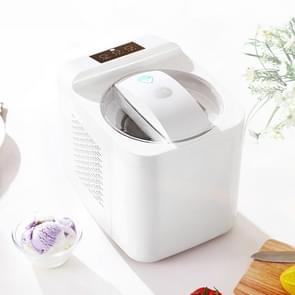 ICM-1000C Home Smart Small Automatic Homemade Fruit Ice Cream Machine, CN Plug, 220V(White)