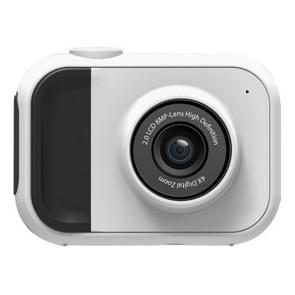 Puzzle Children Exercise Digital Camera with Built-in Memory, 120 Degree Wide Angle Lens(White)