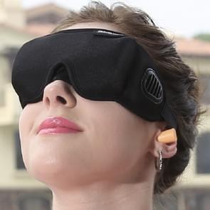 3D Draping Shading Health Care Breathable Eye Mask to Promote Sleep Eye Mask(Black)