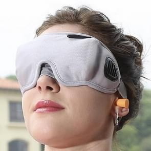 3D Draping Shading Health Care Breathable Eye Mask to Promote Sleep Eye Mask(Gray)