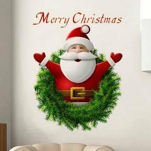 Christmas Santa Claus Wall Sticker Home Decor