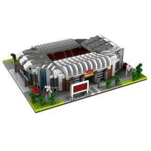 Kleine deeltjes bouwstenen geassembleerd World Building model puzzel Toy (Old Trafford Football stadium)
