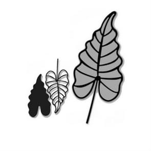 2 PCS Tulip Etching Die DIY Clip Book Album Greeting Card Making Mould, Style:Leaf