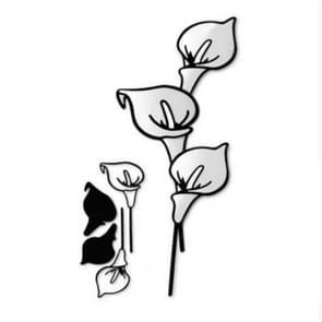 2 PC'S Tulip etsen sterven DIY clip boek album wenskaart maken mal  stijl: bloemen