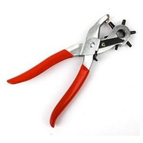 2 PCS Hand Tools Clamp Multifunction Leather Strap Watch Band Repair Belt Hole Punch Pliers Tool