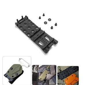 Quick pull multifunctionele taille clip schede met clip rugzak Bevestigingsgesp