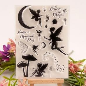 Magic Fairy Knife Mold Seal DIY Cutting Book Album Making Mold, Style:Stamp