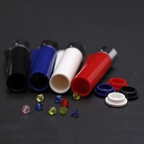 Mini aanstekers stijl opslag pil vak draagbare geneeskunde vak pil opslag tank geval  willekeurige kleur levering